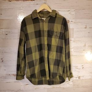 Old Mill full button down top
